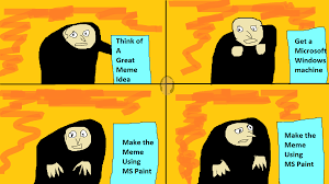 How To Make A Meme In Paint - ms paint for memes gru s plan know your meme