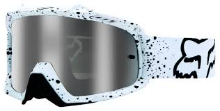 custom motocross goggles fox racing airspc goggles cycle gear