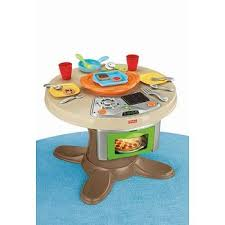 fisher price table chairs fisher price servin surprises cook n serve kitchen and table set