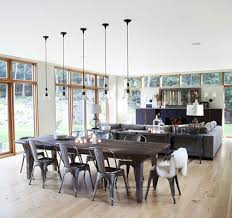 Tolix Dining Chairs Yes Tolix Chairs Wood Table Kitchens And Farmhouse Table