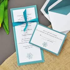 teal wedding invitations teal wedding invitations kits badi deanj