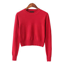 pink sweaters buy crop top sweater 2015 fashion knitted oversized pink