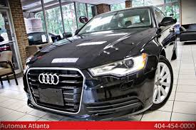 audi a6 premium 2013 used audi a6 premium plus navigation and back up at