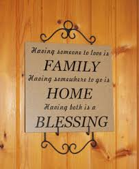 blessing for the home wall decals stickers family home blessing vinyl tile design