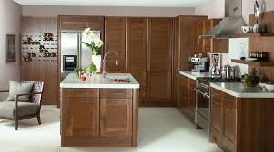 bespoke kitchen furniture small galley kitchen walnut cabinets walnut flooring in norma budden