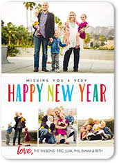 new year u0027s cards u0026 new year photo cards 2018 shutterfly