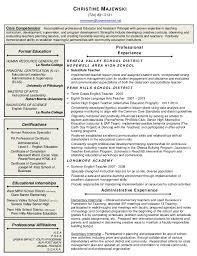Assistant Principal Resume Sample by Principal Resume 2016