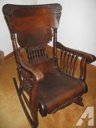 Rocking Chairs For Sale Antique Oak Rocking Chair Very Fancy For Sale In Parker