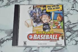 backyard baseball 2003 windows mac 2002 ebay
