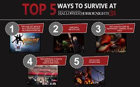 halloween horror nights and islands of adventure tickets universal orlando close up top 5 ways to survive halloween