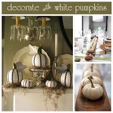 fall pumpkin decoration 11 lovely white pumpkin decor ideas craft o maniac best 25 white