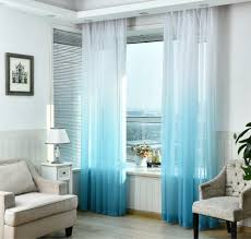 gradient color curtains for living room cotton drapes for bedroom