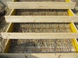 treppe betonieren bvh stratzing die stufen zur terrasse