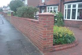 brick garden walls essex brickwork repointing brick pointing