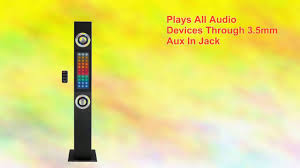 craig home theater system craig 2 1 channel tower speaker w bluetooth wireless technology
