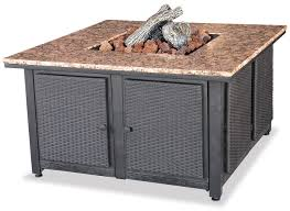 Gas Firepit Table Blue Rhino Uniflame Lp Propane Gas Pit Table With Granite