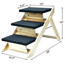 dog step stool for bed chic folding step stool plans stools dog