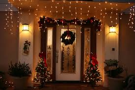Outside Home Christmas Decorating Ideas Christmas Outside House Decorating Ideas For