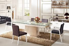 rectangular glass top dining room tables glass top dining room tables ideas home decor news