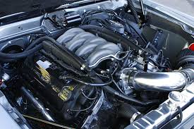 modded cars engine check out the coyote engine in this 1970 javelin rod network