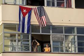 Picture Of The Us Flag American Flag Raised At U S Embassy In Havana Wsj