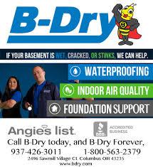 b dry basement basement waterproofing