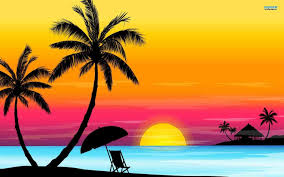 palm tree drawing palm tree sunset drawings paint drawing