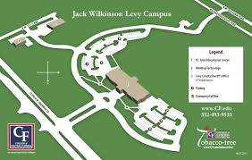 Citrus College Map College Of Central Florida Levy Campus Map