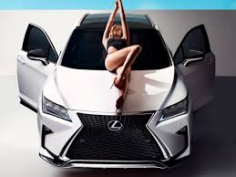lexus rx 2016 f sport video lexus rx f sport and si model hailey clauson image 454941