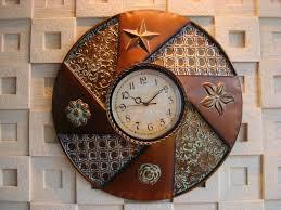 Home Decor Clocks Clocks Mesmerizing Decorative Metal Wall Clocks 36 Inch Wall
