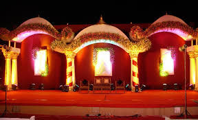 stage decoration wedding planning