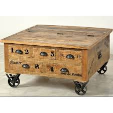 storage trunk coffee table rustic trunk coffee table menier chocolate factory