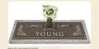 headstone markers bronze companion grave markers tegeler monument company