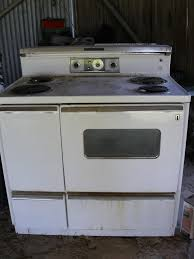 Ge Electric Cooktops Anyone Know Year Of Ge Antique Range Oven 60 U0027s Archive Bhm Forum