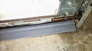 Overhead Door Threshold by Garage Door Threshold Kit Keep Water Out Penny Pincher Journal