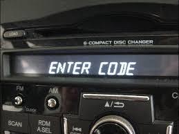 what is the code for honda pilot radio unlock decode radio navigation honda from serial code civic