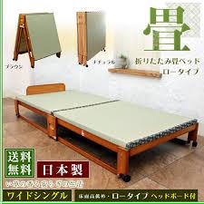 Wooden Folding Bed Huonest Rakuten Global Market Folding Mat Bed Flavored Grass