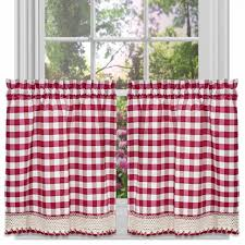 Kitchen Tier Curtains by Kitchen 36 Inch Curtains Buy Kitchen Curtains Online Royal Blue