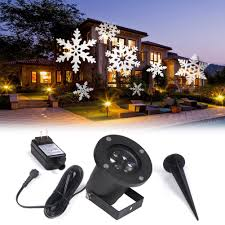 Light Flurries Snowflake Projector Review by Amazon Com Koot Christmas Light Halloween Snowflake Decorations
