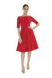 pretty dress the pretty dress company hepburn in polka dot