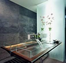 waschbecken design außergewöhnliche designer waschbecken glassworks wasserfall effekt