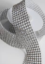 ribbon trim ribbon trim with glass stones 1 3 8in x 41in 8 rows