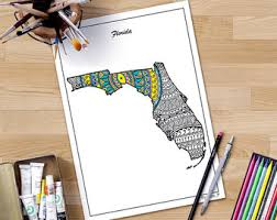 georgia state map decorative maps usa coloring united