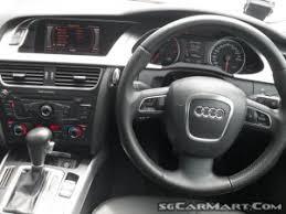 audi a4 singapore used audi a4 1 8a tfsi mu car for sale in singapore cosmo
