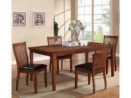 winners only broadway 5 piece dining set with leg table dunk