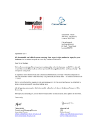 Business Invitation Letter Format For Meeting by Invitation Letter March 16 17 2015 Sustainable Cotton Forum London
