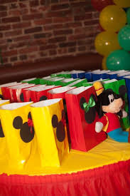 mickey mouse favor bags colorful gift bags ideas for birthday fashion trend