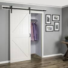 Sliding Barn Door For Closet Delightful Sliding Doors Lowes Best Barn Doors Lowes Ideas On