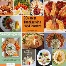 20 best thanksgiving food platters pinlavie