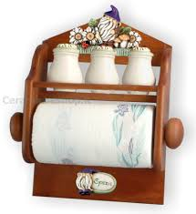 portaspezie legno portarotolo portaspezie in legno gnomi e margherite ceramica